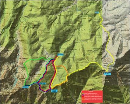 Mapa Rutas Gredos