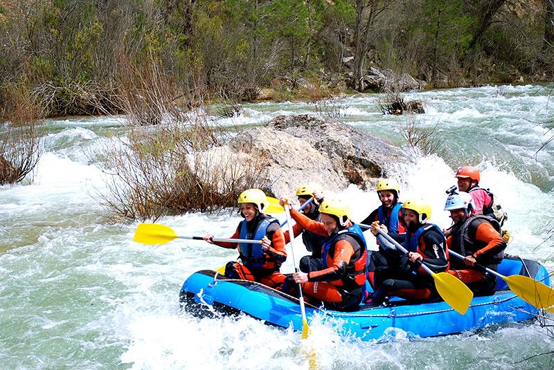 Rafting en el Alto Tajo
