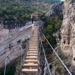 Vía ferrata en Cuenca